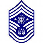 air force cmsaf insignia