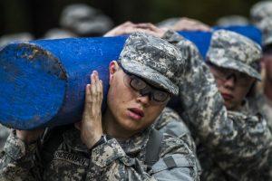 army basic training exercise