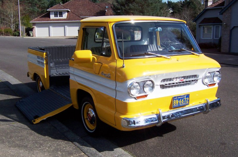 chevrolet corvair rampside truck
