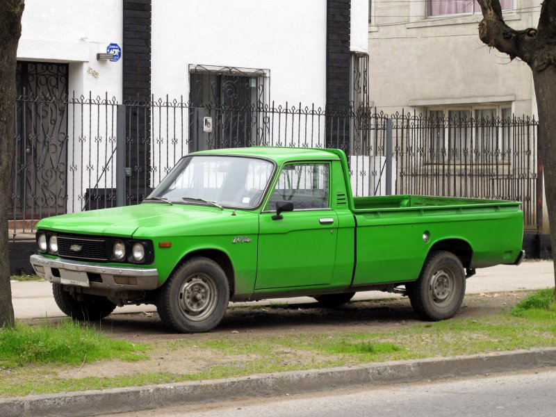 chevy luv pickup truck