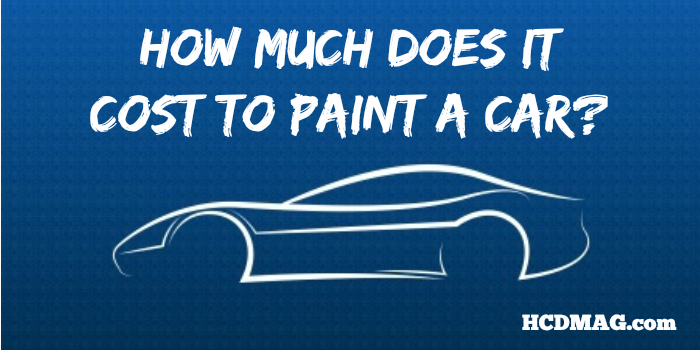 Bon Cost To Paint A Car