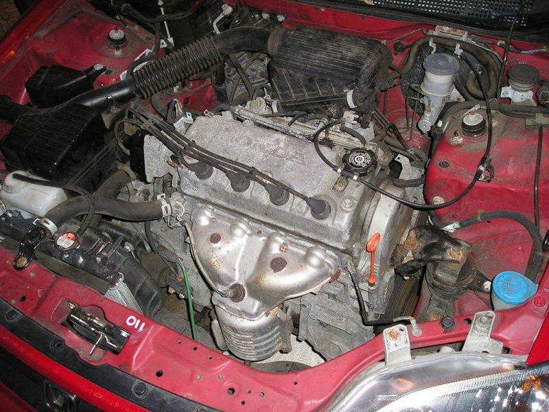 Pistons and Rings Fits 96-00 Honda Civic Del Sol 1.6L SOHC 16v Cu 97 D16Y7