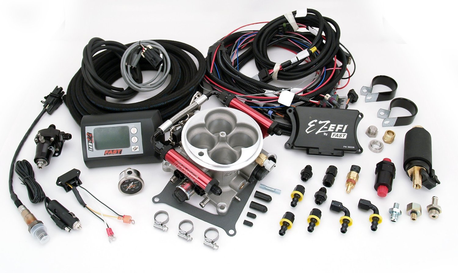 fast fuel injection kit ez efi self tuning system