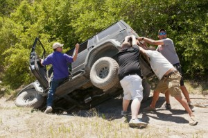 Jeep Roll Over