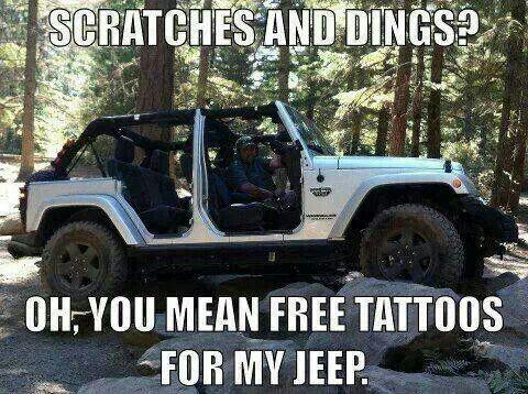 jeep tattoos
