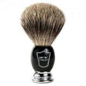 parker safety razor badger shaving brush