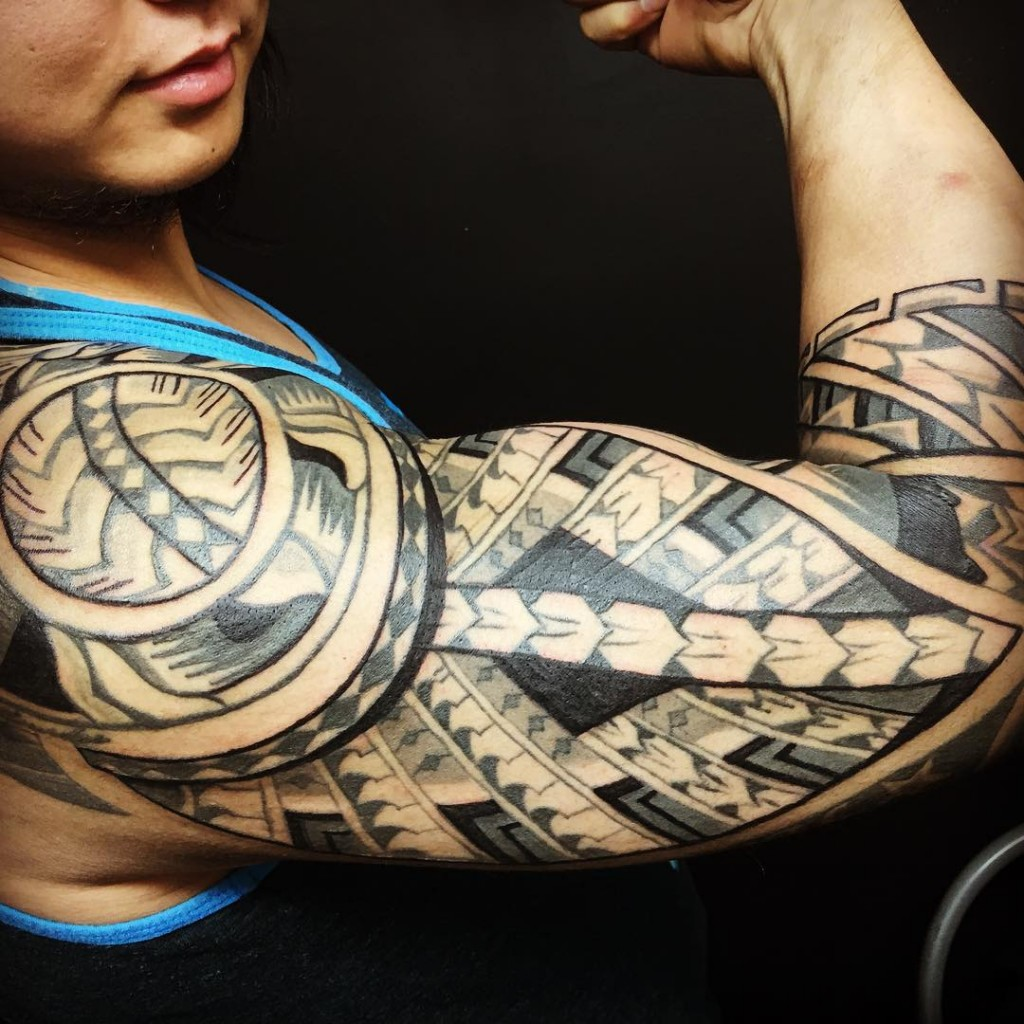 Tribal Tattoo For Arm: Tribal Tattoos: 27 Amazing Designs We Found On Instagram