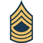 us army msg e8 insignia