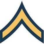us army pv1 e2 insignia