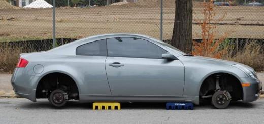 Prevent wheel theft